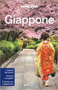 Libro Giappone Lonely Planet