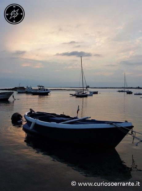 Gallipoli - Porto e barche dei pescatori