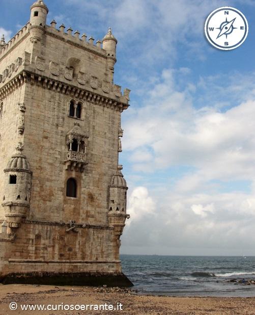 La torre di belem edificio a quattro piani