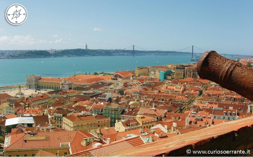 Lisbona - veduta sul quartiere Baixa