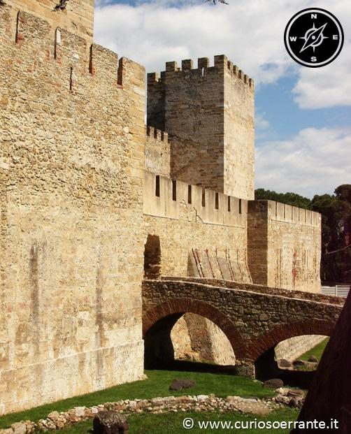 Lisbona - Alfama - Castelo de Sao Jorge
