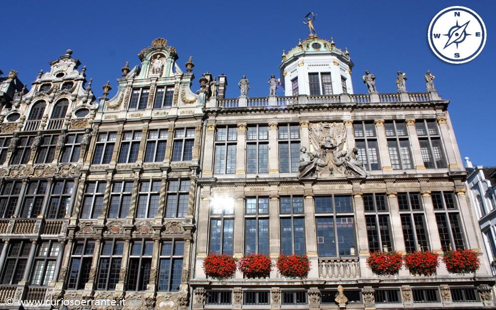 La Grand Place - cuore storico della città di Bruxelles