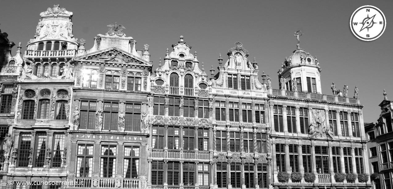 La grand Place di Bruxelles - piazza centrale