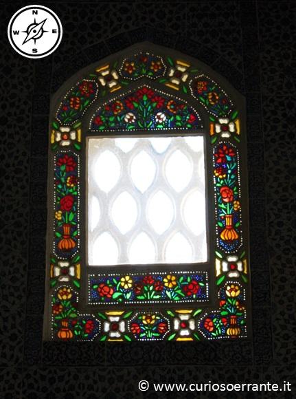 Topkapi - vetrata di un padiglione