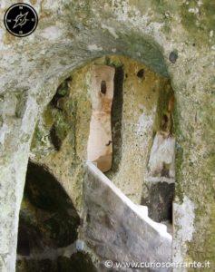 L'interno dei Sassi di Matera