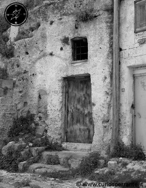 I Sassi di Matera - abitazioni ricavate nella roccia