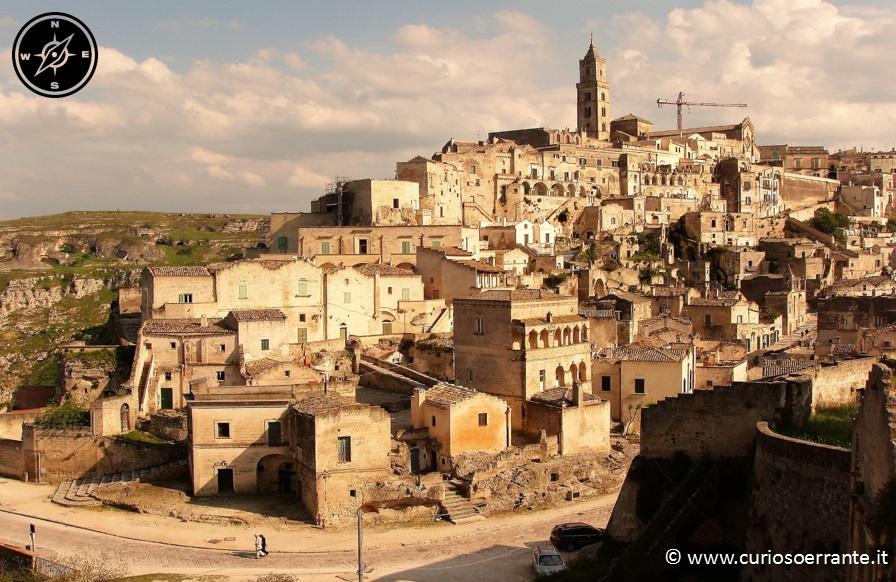 La città di Matera - vista sulla civita