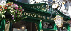 Royal Mile di Edimburgo Scozia