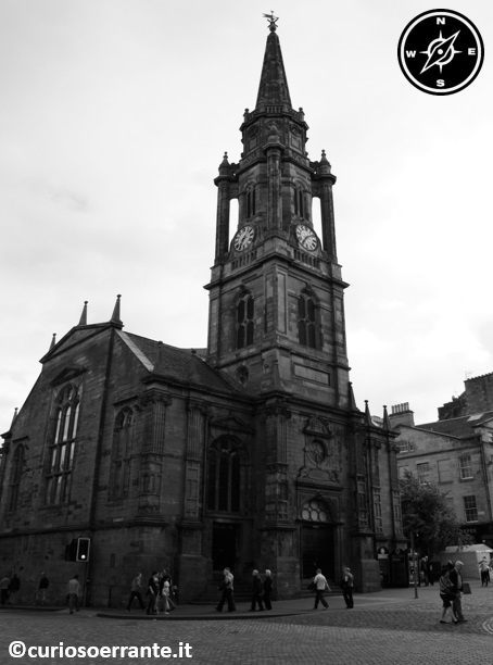 Royal Mile di Edimburgo - The Tron Kirk