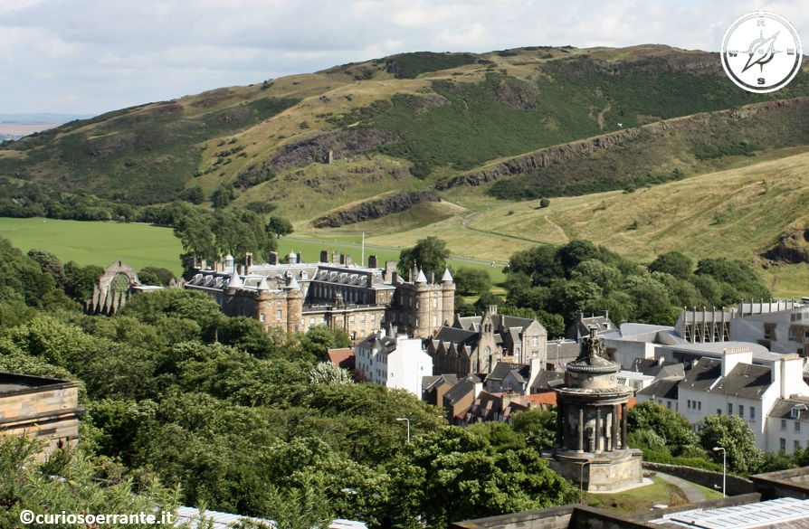 Royal Mile di Edimburgo - The palace of Holyroodhouse