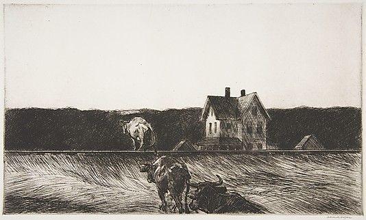 Edward Hopper - American Landscape (1920)