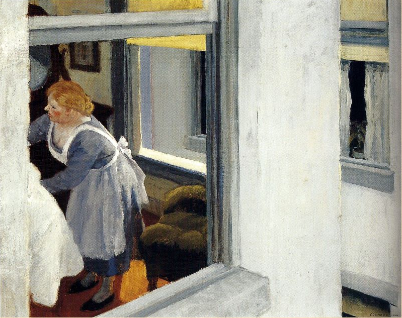 Edward Hopper - Apartment Houses (1923)