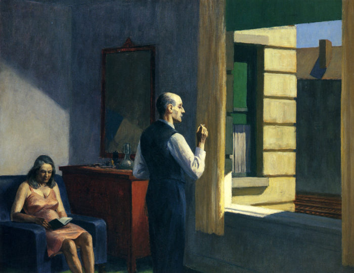 Edward Hopper - Hotel by a railroad (1952)