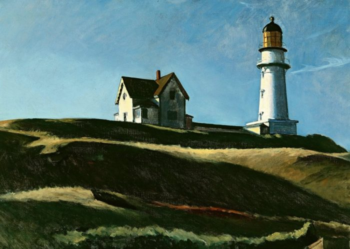 Edward Hopper - Lighthouse Hill (1927)