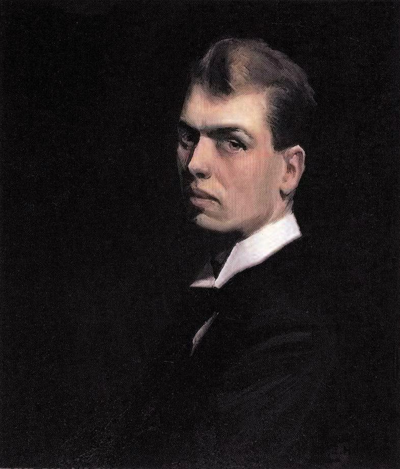 Edward Hopper - Self portrait (1906)