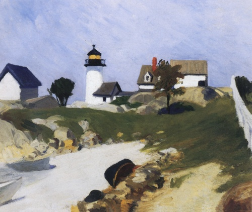 Edward Hopper - Squam Light (1912)