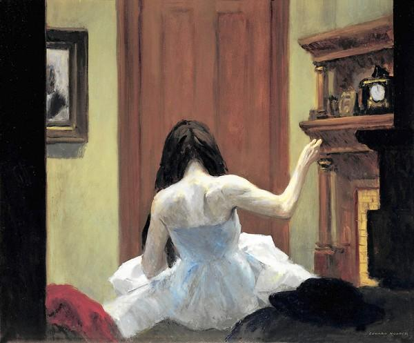 Edward Hopper - Summer Interior (1921)
