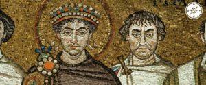 Ravenna - Basilica di San Vitale - Corteo Giustiniano