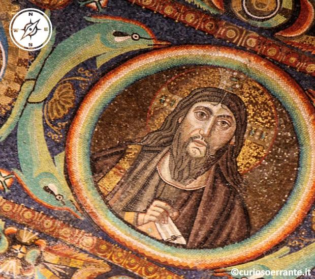 La Basilica di San Vitale - Dettaglio di un mosaico