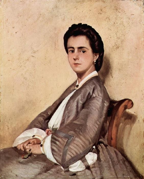Giovanni Fattori - La cugina Argia (1861)