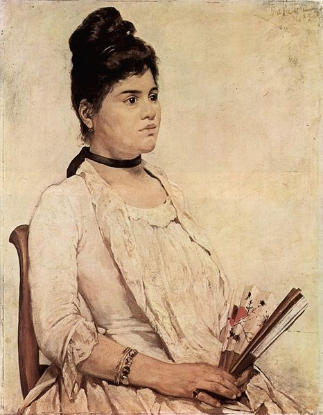 Giovanni Fattori - La figliastra (1889)