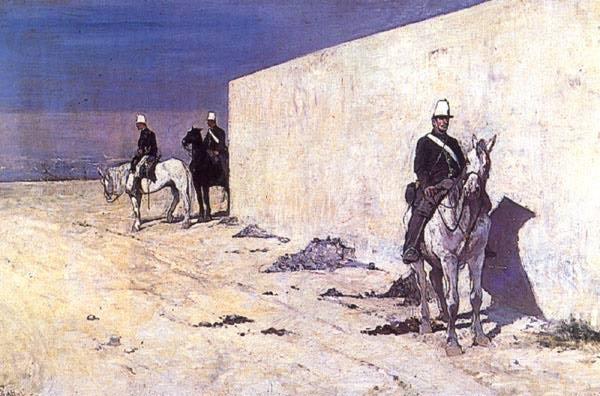 Giovanni Fattori - La vedetta (1872)