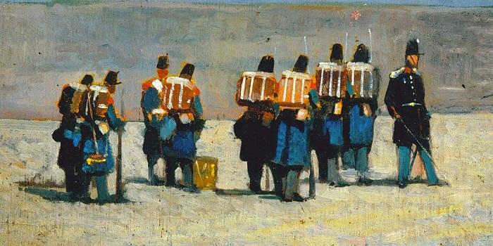Giovanni Fattori - Soldati francesi (1859)