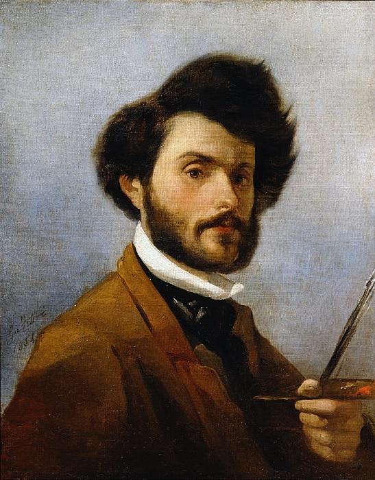 Giovanni Fattori - autoritratto (1854)