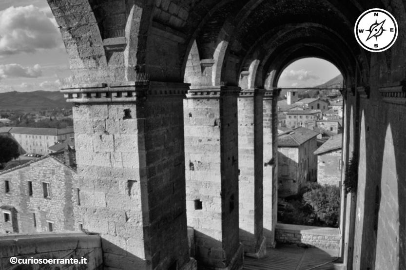 Arcata in Piazza Grande a Gubbio