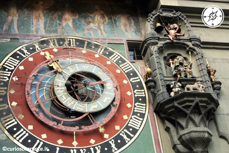 Berna - la torre dell'orologio