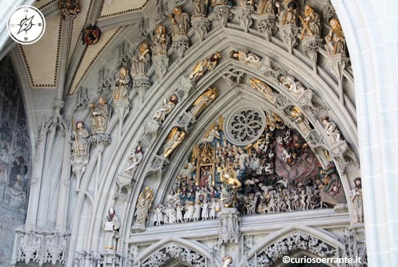 Berna - portale maggiore Berner Münster