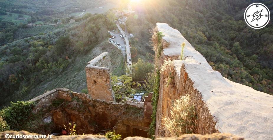 Civita di Bagnoregio - il ponte pedonale