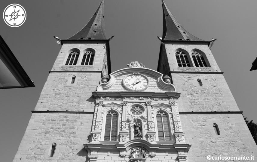 Lucerna - Collegiata dei Santi Leodegario e Maurizio