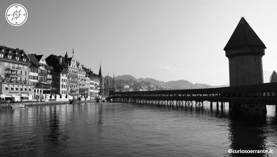 Lucerna - Ponte della Cappella (Kapellbrucke) 2
