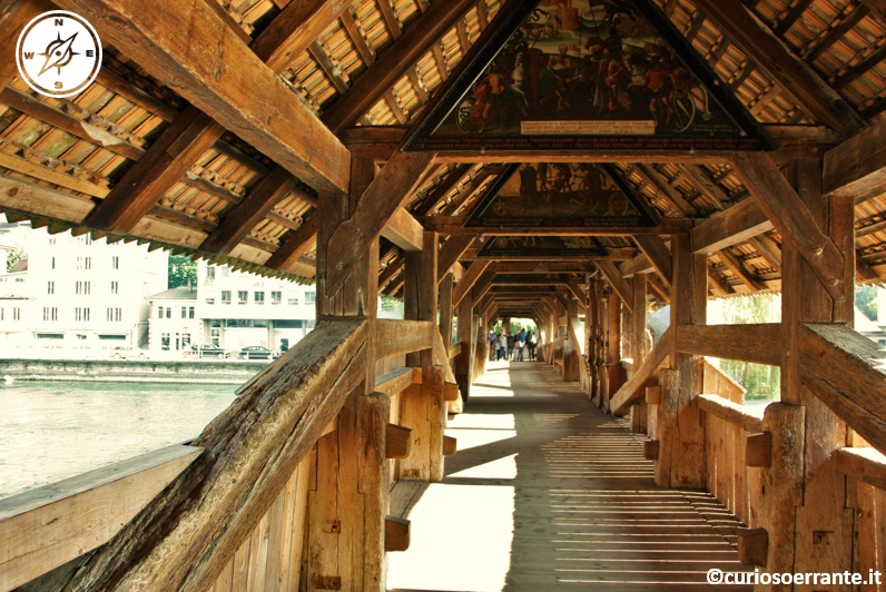 Lucerna - Ponte della Cappella (Kapellbrucke) pitture