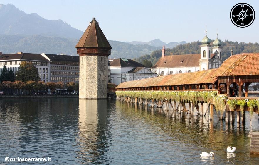 Lucerna - Ponte della Cappella (Kapellbrucke)