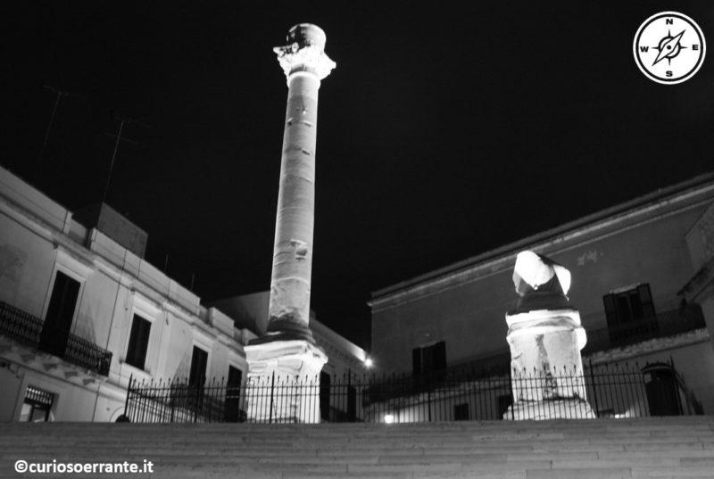 brindisi le colonne alla fine della via Appia