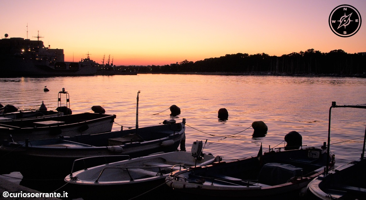 brindisi - porto interno e porto militare