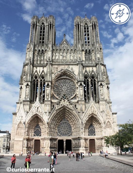 Cattedrale Notre Dame di Reims - architettura gotica