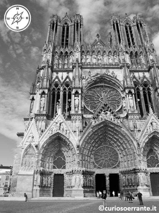 Cattedrale Notre Dame di Reims - frontale