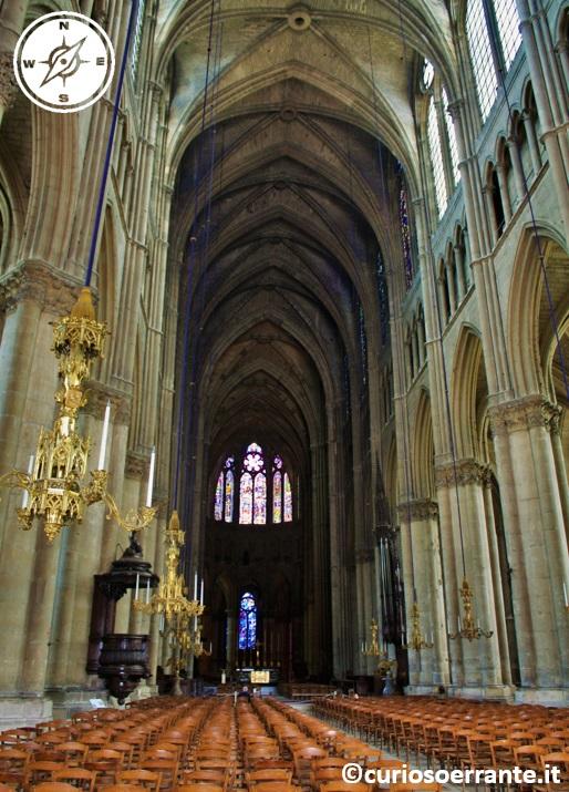 Cattedrale Notre Dame di Reims - navata centrale