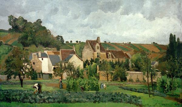 Pissarro - Hermitage at Pontoise -1867