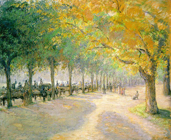 Pissarro - Hyde Park 1890