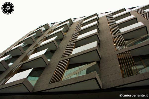 palazzi con architetture dinamiche e moderne
