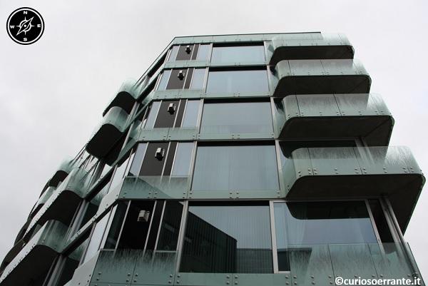 Aker Brygge di Oslo - palazzi con architetture dinamiche e moderne 3