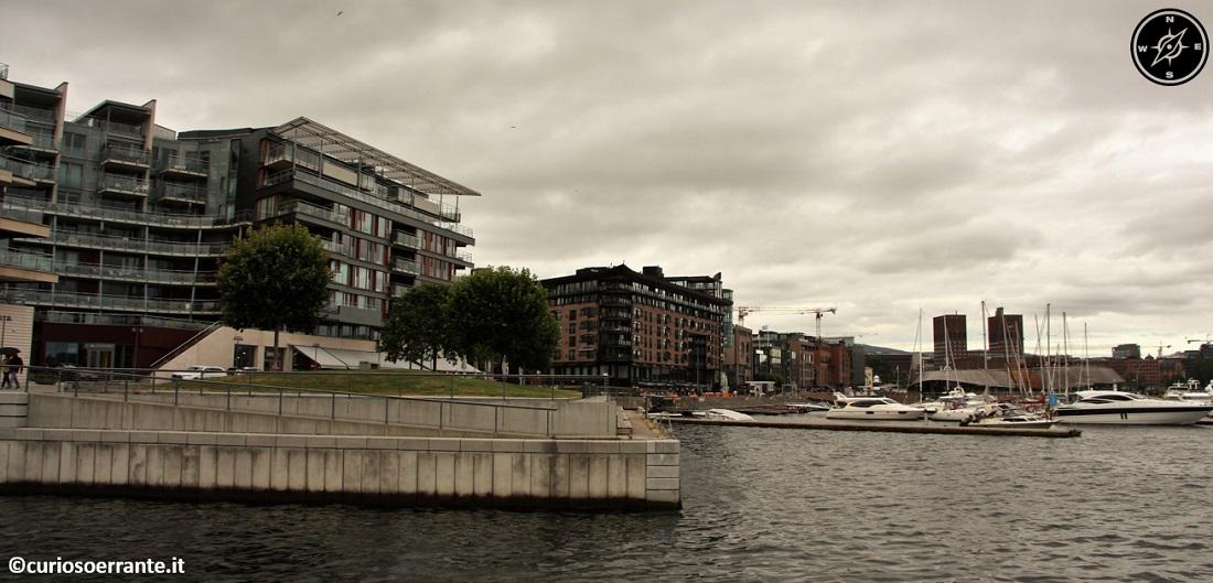 Aker Brygge di Oslo