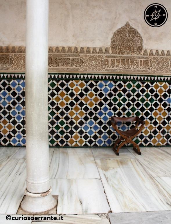 Alhambra - decorazioni di maioliche e stucchi