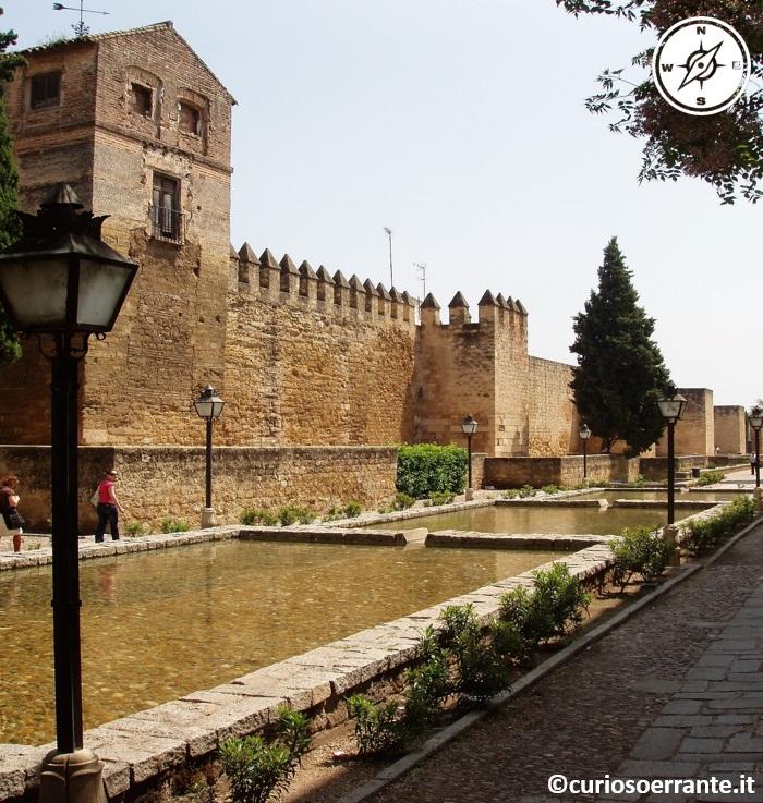 Cordova - Alcazar de los Reyes Cristianos - fontane d'acqua