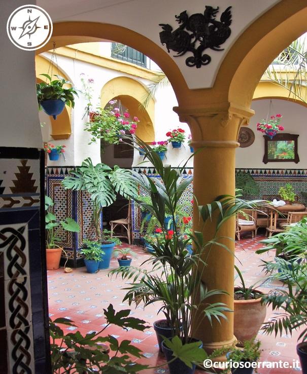Cordova - cortili interni delle case andaluse