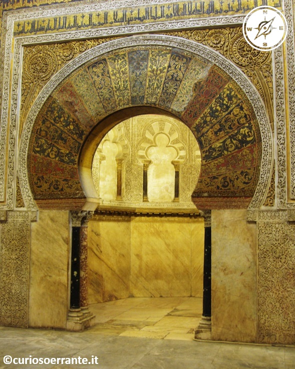 Mezquita di Cordoba - Mihrab la nicchia per la preghiera